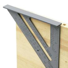 Square Ruler Layout-Tool Carpenter-Measurement Thickening-Angle Aluminum-Alloy 90-Degree