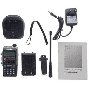 Image 5 - Baofeng UVB2 Plus UV B2 Twee Way Radio Dual Band Vhf/Uhf Walkie Talkie 128CH Interphone BF UVB2 Ham Cb Radio handheld Transceiver
