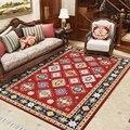 Марокканский стиль геометрический цветочный ковры и ковер богемный домашний Декор большие коврики для гостиной спальни Нескользящие ковр...