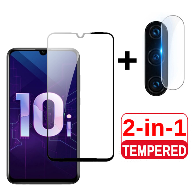 2in1 Tempered Glass For Honor 10i Glass Camera Protector On For Huawei Honer 10 Lite 20 Light Honor10i HRY LX1T Protective Films