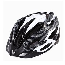 Mountain Bike Cycling Helmet Hollow Breathable Carbon Fiber Safety Head Cap Outdoor