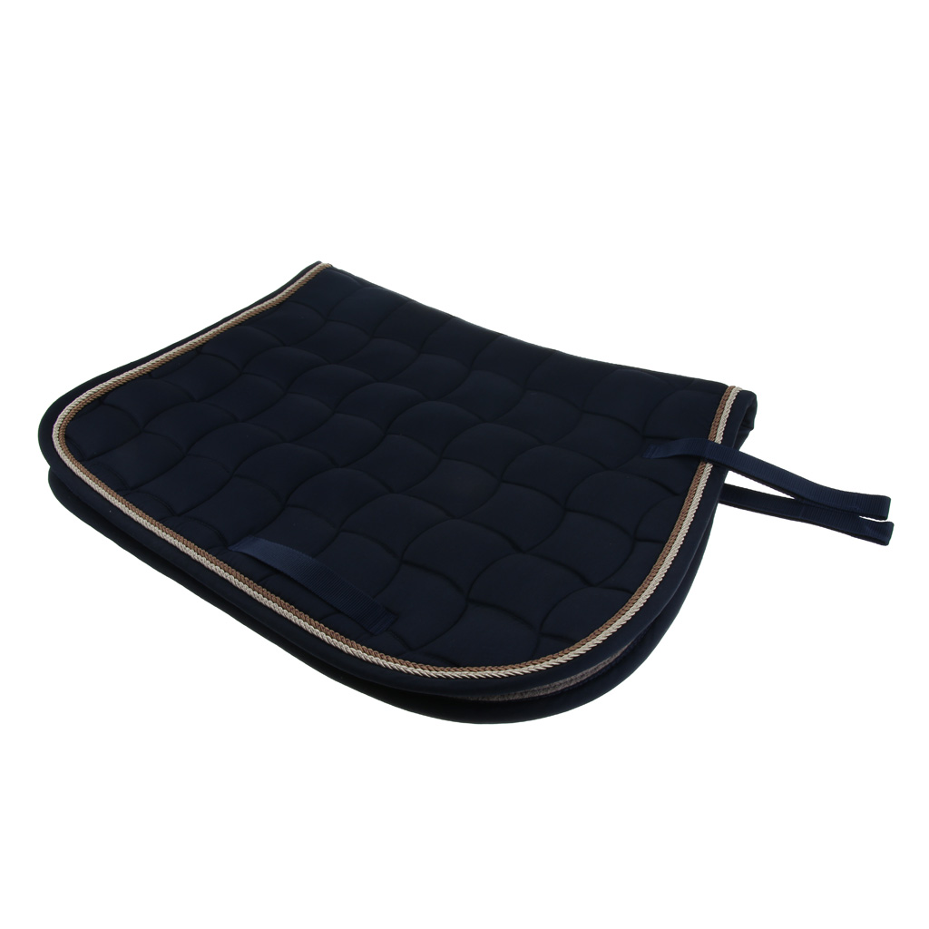 Cotton Comfort English Saddle Pad, Horse Riding Dressage Saddle Pads - 27.16x19.68inch