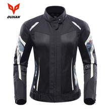 DUHAN Motorcycle Jacket Women Moto Jacket Suit Breathable Pants Motorcycle Clothing Summer Motorbiker And Racing Clothes dunham summer clothing automobile race motorcycle ride motorcycle breathable mesh jacket racing clothing