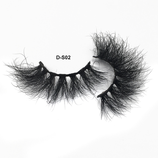 RED SIREN Lashes Mink Eyelashes Real Mink Hair Fluffy Messy Soft Natural Lashes Makeup 3d Mink Lashes 4
