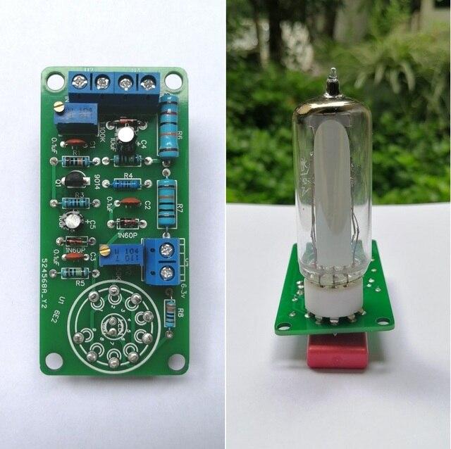 6E2チューブ猫目ドライバボードオーディオレベル蛍光インジケータラジオ管アンプのボリューム表示胆汁プリアンプ真空