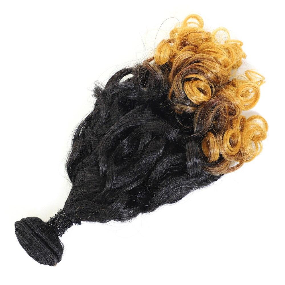 cabelo tece 5 pacotes 240g tudo em