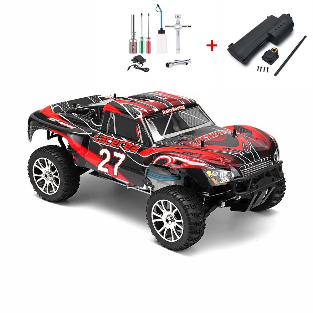 HSP RC CAR TOYS 1/8 4WD OFF ROAD REMOTE CONTROL NITRO GASOLINE SHORT COURSE 21CXP ENGINE SIMILAR HIMOTO REDCAT (ITEM NO. 94763)