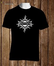 Black T-shirt Godsmack Alternative Metal Band Men  Adult Slim Fit T Shirt S-XXxl Great Discount Cotton Men Tee godsmack münchen