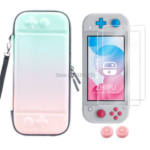 Image 2 - Portable Hard Carrying Bag Case for Nintend Switch Lite NS Mini Console Protective for Nitendo Switch Mini Accessories Storage