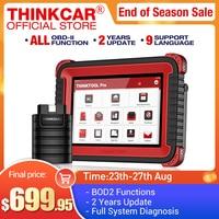Thinkcar-herramienta de diagnóstico profesional Thinktool Pro OBD2, sistema completo, escáner lector de código, escáner automático de coche, codificación ECU, prueba activa