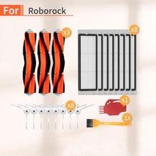 21 Pcs Robot Vacuum Cleaner Replacement Side Brush Filter Accessories for Xiaomi Mija Mi 1 2 Roborock s6 s50 s51 s55 Spare Parts