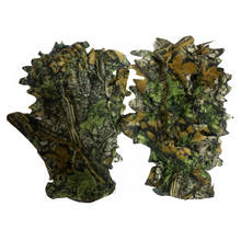 Cycling-Mittens Camo-Gloves Leaf Shooting Sneaky Tactical 3D for Outdoor Fishing CS 1pair