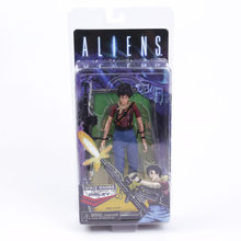ALIENS NECA LT Ripley-figura de acción de PVC, juguete de modelos coleccionables