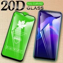 Protetor de tela de vidro temperado de capa completa para vivo Y11s Y12i Y12s Y12i Y1s Y19 Y17 Y15 Y12 Y11 2019 Y91C