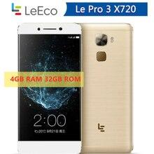 4070mAh Snapdragon 821 4GB RAM Letv LeEco Le Pro 3 X626 / X720 cellulare 32GB ROM 5.5