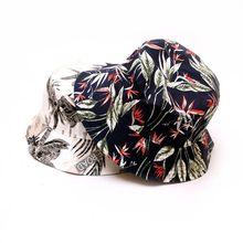 2020 nouvelle mode chapeau de pêcheur imprimé fleuri seau chapeau unisexe Bob casquettes Hip Hop Gorros hommes femmes coton Streetwear