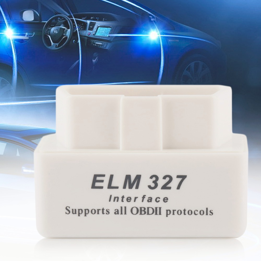 MINI Car Auto Interface Scanner Automotive Automotivo Automotriz ELM327 V2.1 Bluetooth OBD-II Smart Car Diagnostic Scan Tool