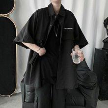 футболка для мужчины оригинальный инструмент с короткими рукавами черный топ и черные футболки для мужчин и женщин Harajuku футболки оверсайз