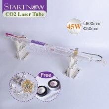Startnow 45W CO2 Glazen Buis Laser Pijp 800 Mm Voor CO2 Lasergravure Snijden Carving Lamp Marker Machine Accessoires groothandel