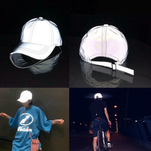 Outdoor Cap Reflective Baseball Hat  Night Running And Riding Safety