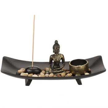 1 zestaw Zen buddyzm świecznik uchwyt kadzidła artykuły wyposażenia wnętrz do dekoracji wnętrz tybetańskich misek tanie i dobre opinie EECOO CN (pochodzenie)
