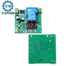 Ac 9v-24v dc 12v-30v pnp alto nível gatilho atraso módulo controlador máximo 30a temporizador de contagem regressiva ajustável