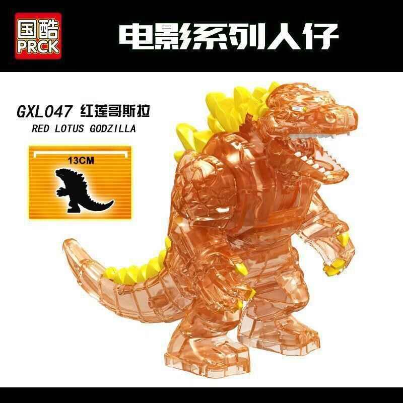 Figuras de animales Legoing Lotus rojo Monster Model Toys película de gran tamaño creador de figuras bloques de construcción Legoings ciudad Duplo ladrillos