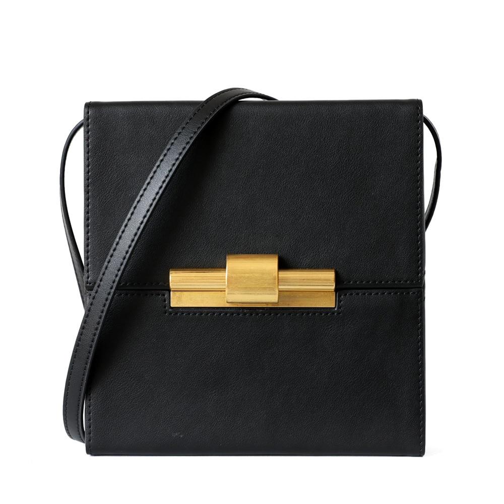 Fashion Cow Leather Luxury Handbags Women Bags Designer High Quality Genuine Leather Crossbody Bags For Womens Bolsas Feminina|Shoulder Bags| - AliExpress