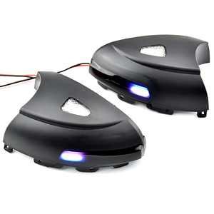 Image 5 - 2pcs Side Mirror indicator Dynamic Sequential Flowing LED Turn Signal Light Puddle Light For VW Volkswagen Tiguan MK1 2008 2016