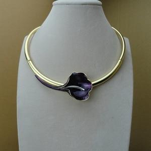 Image 5 - Yuminglai Dubai beaux bijoux belle fleur Rose bijoux pour les femmes FHK9553