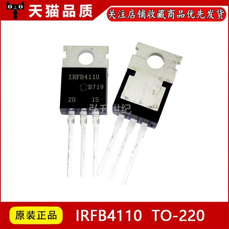 Бесплатная доставка, 50 шт./лот IRFB4110 FB4110 B4110 IRFB4110PBF 100V, 3.7mO, 180A, 370W, новый оригинальный запас