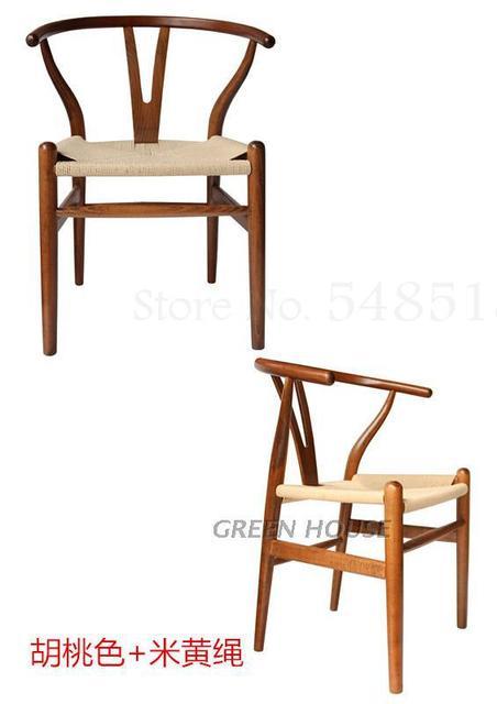 Wishbone  Y Solid Wood Chair 3