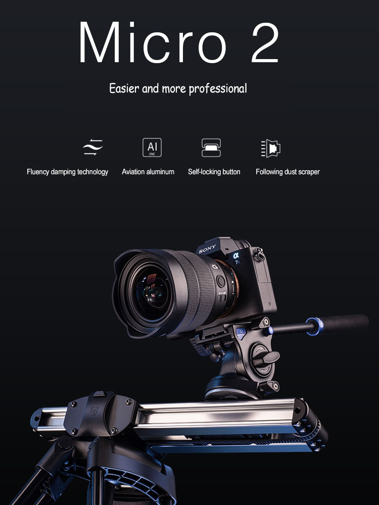 Neewer Noise-Free Camera Table Dolly Slider with 22 pounds//10 kilograms Load Capacity Skater Design Aluminum Board Rotatable TPU Wheels 1//4-inch Screw Threads for DSLRs Video Camcorders Black