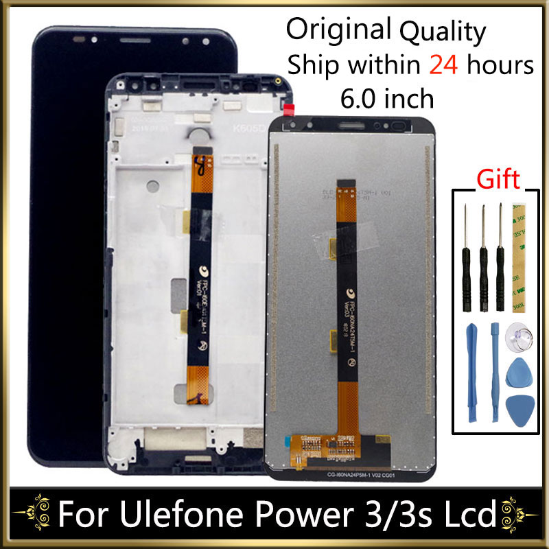 LCD Display For Ulefone Power 3 Power3 For ulefone power 3s LCD Display Screen With Touch Screen Panel  Assembly