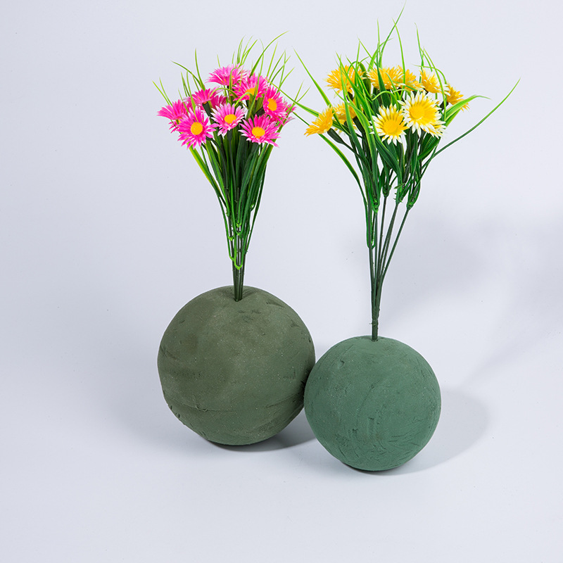 1pcs Floral Foam Blocks Brick Flower Holder Florist Flower Styrofoam Green Bricks Applied Dry Or Wet For Artificial Flowers Artificial Dried Flowers Aliexpress