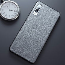 Cloth Frabic Phone Case For Samsung Galaxy A50 A30 A70 M20 S10 Lite S8 S9 Plus A6 A8 J4 J6 A9 A7 2018 Cover Coque