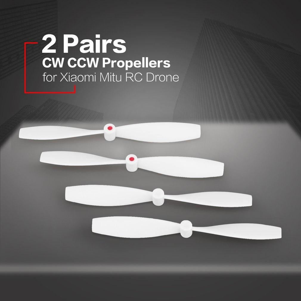 2 пары пропеллеров cw ccw Мини реквизит запасные части лопасти