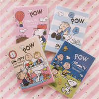 Genuine Hot Sale Rogue Dog Cartoon Notebook Office Note Paper Student Stationery Diary Rubber Cover Notebook Planner Stationery