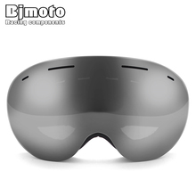 Mask Glasses Goggle Double-Lens Skiing BJMOTO Women UV400 Snow Anti-Fog 3-Layers