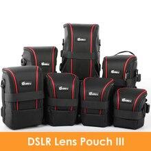 Ulepszone nylonowe torby funkcjonalne EIRMAI obiektywy do aparatu DSLR torba typu worek wysokiej jakości futerał na okulary EIRMAI wodoodporny pokrowiec obiektywu SLR