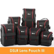 Upgraded EIRMAI Nylon Functional Lens Bags DSLR Camera Lenses Pouch Bag High Quality Lens Case EIRMAI Waterproof SLR Lens Pouch