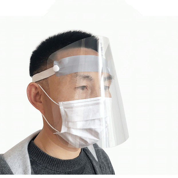 Full Face Mask Protective Mask Anti-fog Mask Windproof Face Mask Anti-dust Cooking Oil Splash Mask High Quality 4