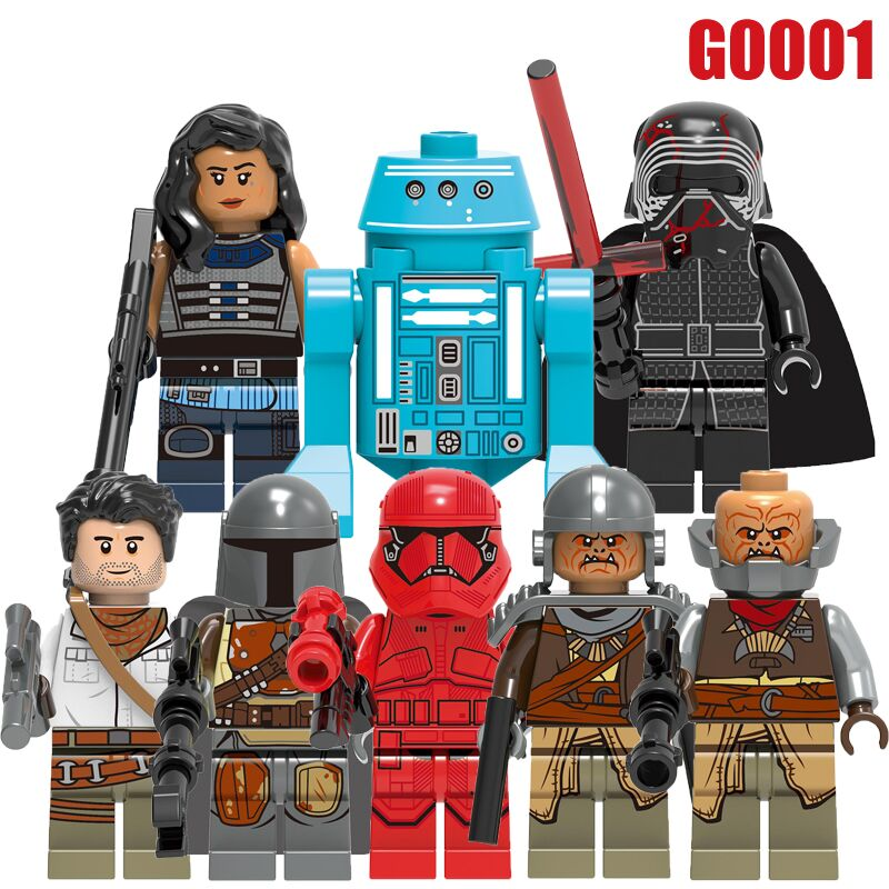 Single Sale Wars Building Blocks Poe Dameron The Man Rhoda Sith Stormer Kara Dunn Raider Figures For Children Model Toys GH0001