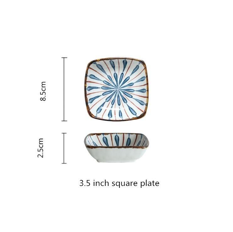 3.5inch square plate