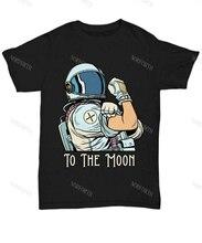 XRP до Луны мы можем сделать это! Мужская футболка криптовалюты