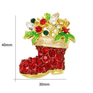 WEIMANJINGDIAN брендовые смешанные стили Санта Клаус/сапоги/Рождественская елка/строительные украшения для рождественских подарков