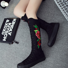 2019 New Spring autumn Women Shoes Canvas Casual