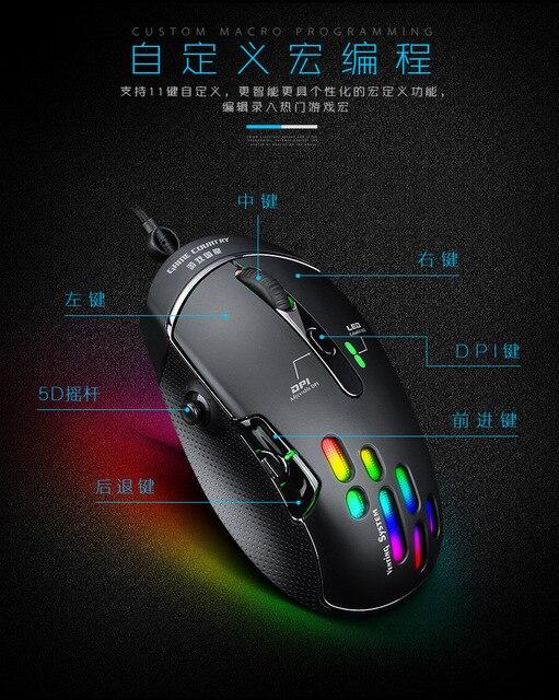 xq компьютерная мышь 4000 точек/дюйм механическая макросъемка фотография
