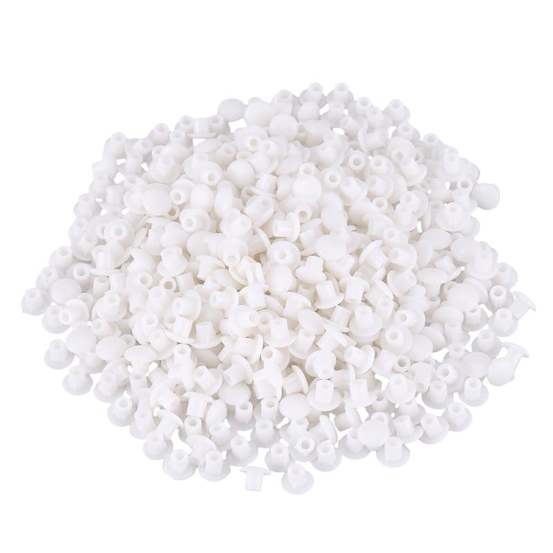 Пластиковая мебель, белая, 5 мм, набор буровых пробок из лепестков роз