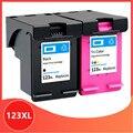 Совместимость для hp 123 XL сменный чернильный картридж для hp 123 123XL с чернилами hp Deskjet 1110 2130 2132 2133 2134 3630 3632 3637 3638